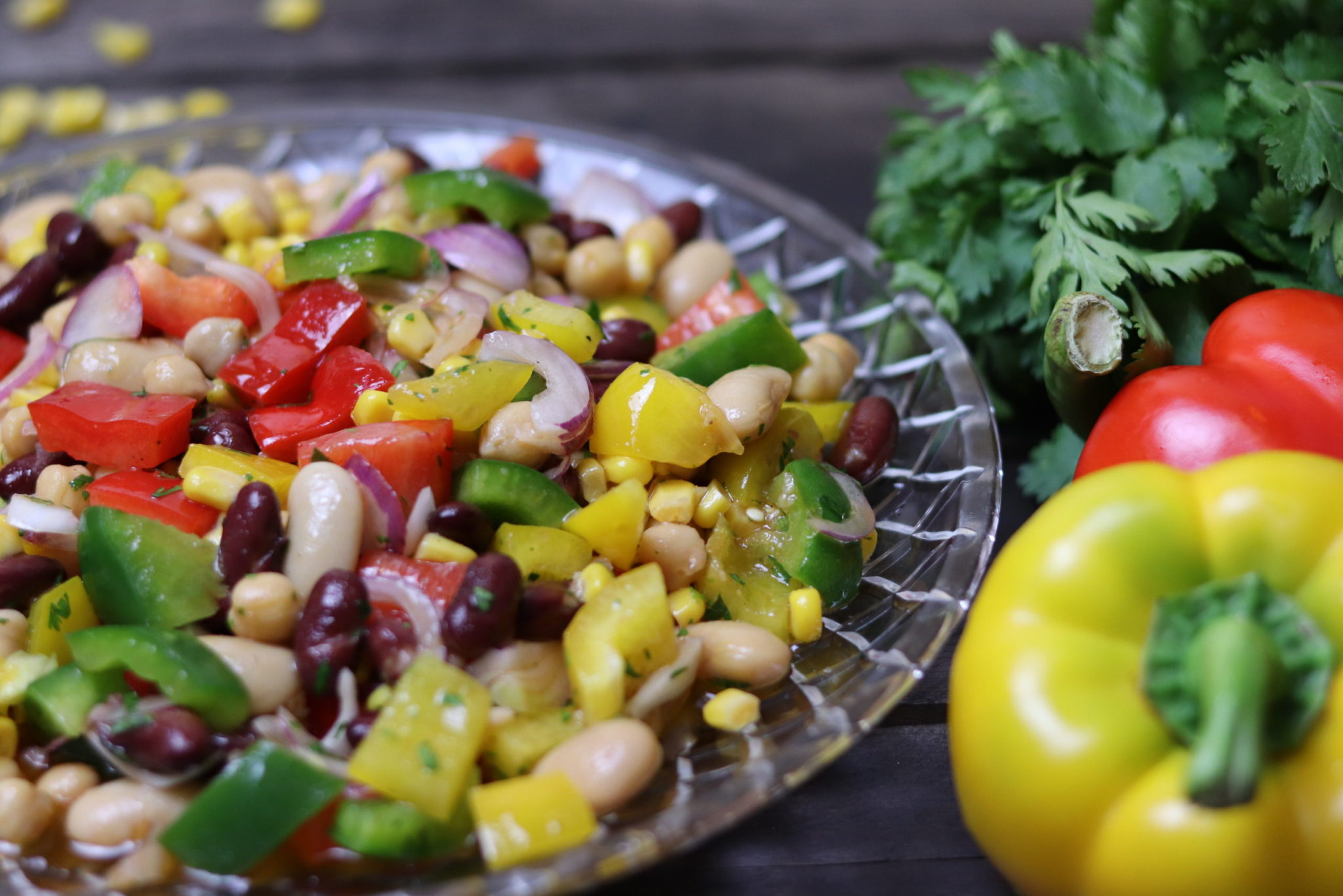 Mexican bean salad