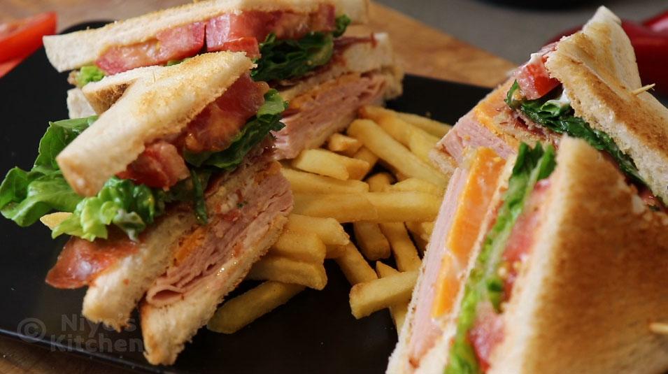 enjoy the club sandwich