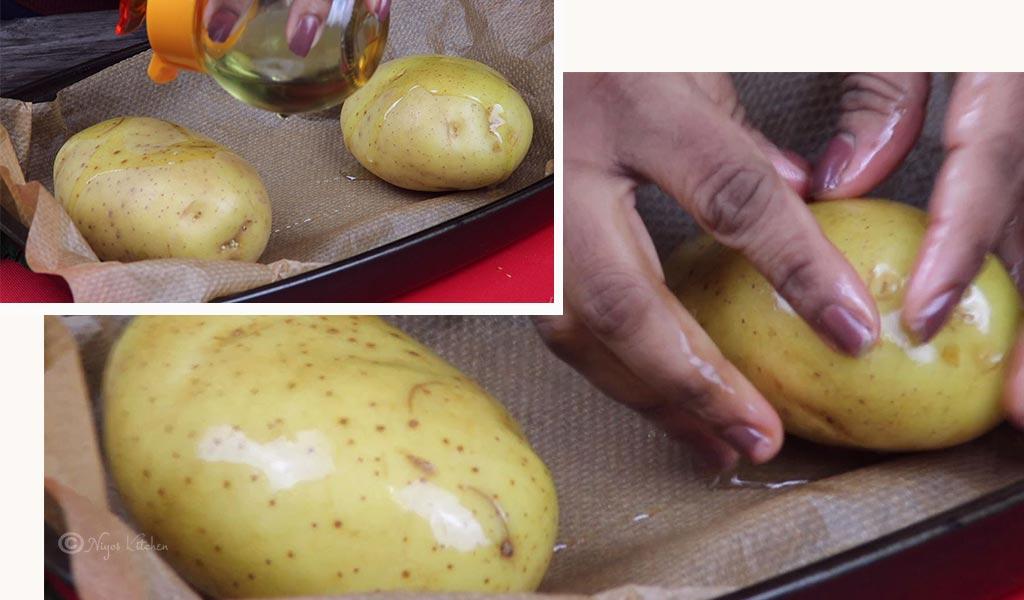 oil-on-potatoes