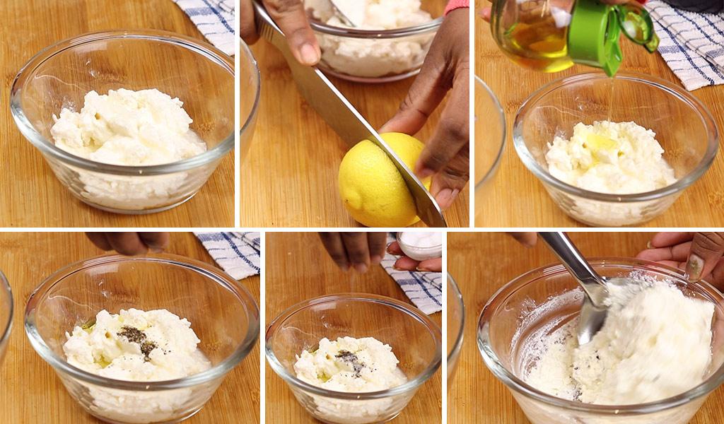 cheese mix for bruschetta