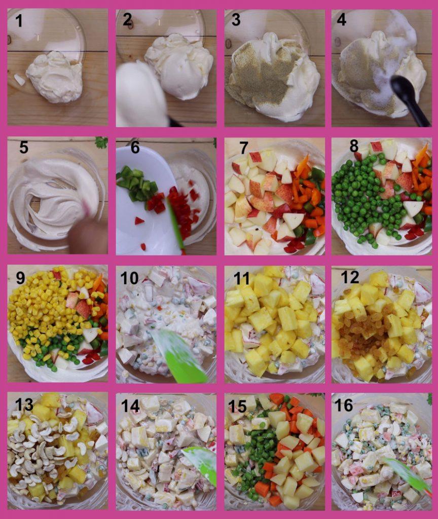 Russian Salad list